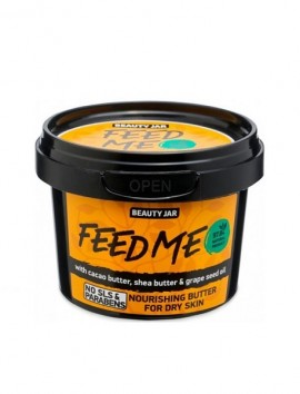 Beauty Jar FEED ME Nourishing Butter For Dry Skin (90gr)