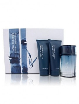 Adolfo Dominguez Agua De Bambu Men Gift Set Eau De Toilette Spray 120ml