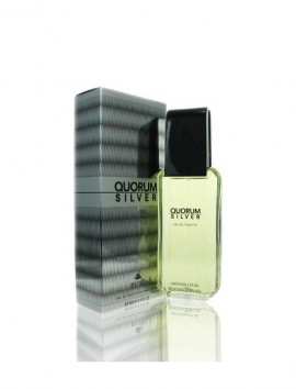 Antonio Puig Quorum Silver Men Eau De Toilette Spray 100ml