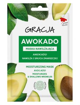 Gracja Avocado Moisturizing Face Mask