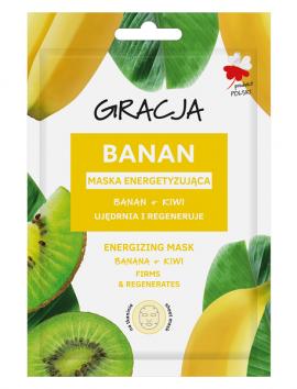 Gracja Banana And Kiwi Energizing Face Mask