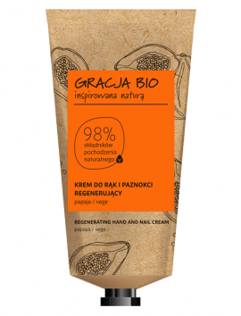 Gracja Bio Papaya Regeneration Hand And Nail Cream 50ml