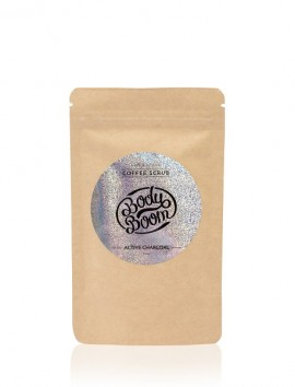 BodyBoom Coffee Scrub ACTIVE CHARCOAL 100ml