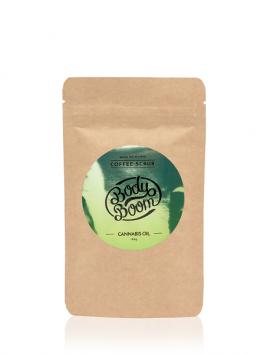 BodyBoom Coffee Scrub CANNABIS OIL 100ml