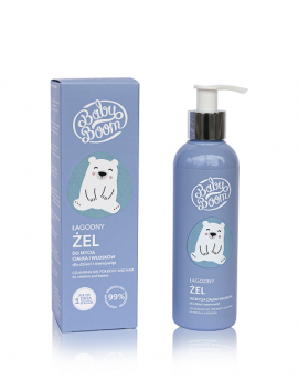 BabyBoom Cleansing Gel Body And Hair From First Day 200ml