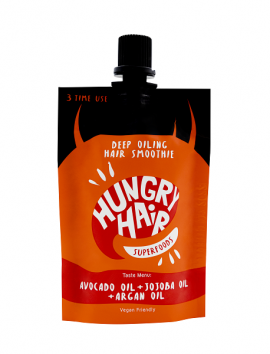 Hungry Hair Deep Oiling Smoothie Hair Mask (50ml)