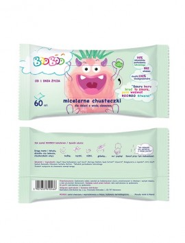 BooBoo Wet Wipes With Aloe Vera Water (60pcs)