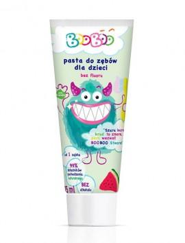 BooBoo FLUORIDE FREE Watermelon Toothpaste 75ml