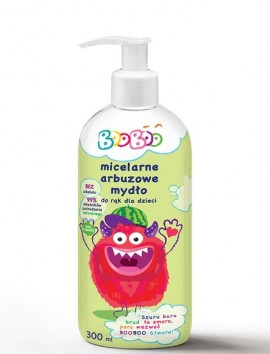 BooBoo Micellar Watermelon Liquid Soap 300ml