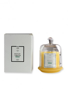 HiSkin Home Scented Candle Basil And Lime 120g