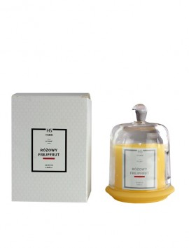 HiSkin Home Scented Candle Pink Grapefruit 120g