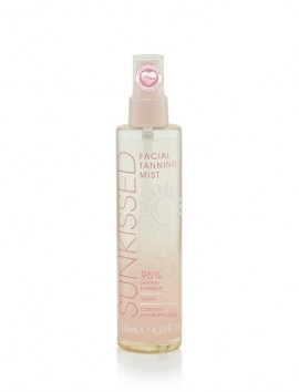 """Sunkissed Clear Facial Tanning Mist 95% Natural Ingredients """"Clean Ocean Edition"""" 125ml"""