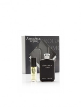 Arrogance Uomo Gift Set Eau De Toilette Spray 75ml
