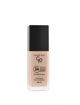 Golden Rose Up To 24 Hours Stay Foundation SPF15 No 04 (35ml)
