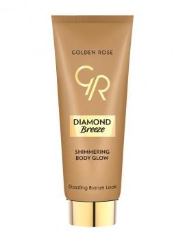 Golden Rose Diamond Breeze Shimmering Body Glow No 02 Dazzle Bronze (75ml)
