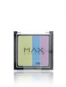 Max Factor Max Effect Trio Eyeshadow No 190 Metalicious (3.5gr)