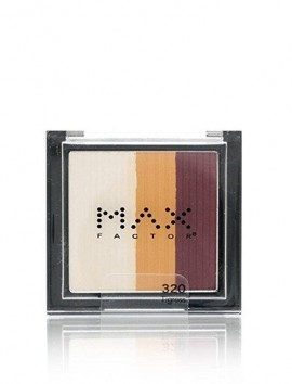 Max Factor Max Effect Trio Eyeshadow No 320 Tigress (3.5gr)