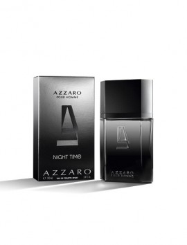 Azzaro Pour Homme Night Time Eau De Toilette Spray 30ml