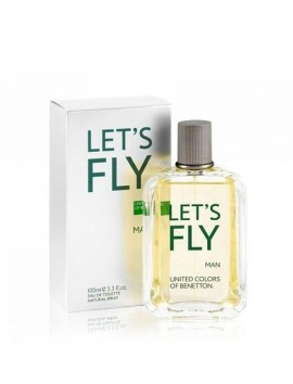 Benetton Let's Fly Men Eau De Toilette Spray 100ml