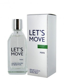 Benetton Let's Move Men Eau De Toilette Spray 100ml