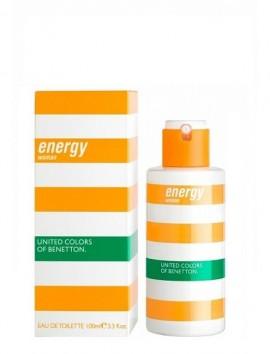 Benetton Energy Women Eau De Toilette Spray 100ml