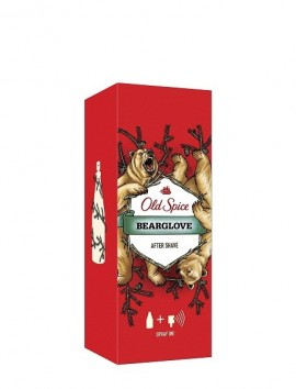 Old Spice Bearglove Men Aftershave Lotion Spray 100ml