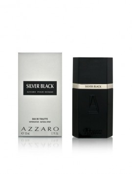 Azzaro Silver Black Men Eau De Toilette Spray 100ml