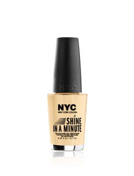 NYC Shine In A Minute Nail Polish No 201 Melon Milkshake (9.7ml)