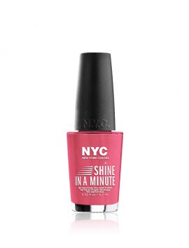 NYC Shine In A Minute Nail Polish No 300 Spring Tulip (9.7ml)