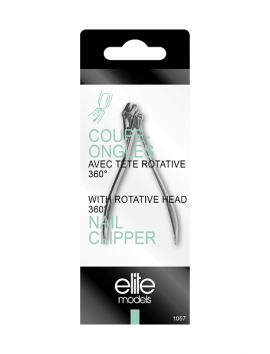 Elite Models Nail Clipper With Rotative Head (1057)