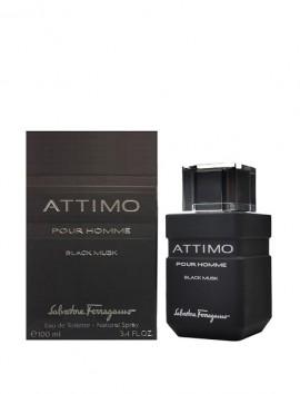 Salvatore Ferragamo Attimo Black Musk Men Eau De Toilette Spray 100ml
