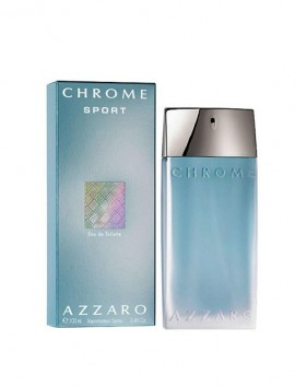 Azzaro Chrome Sport Men Eau De Toilette Spray 100ml