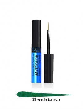 Rebecca Eyeliner My Color Waterproof Long Lasting No 3 Verde (5ml)