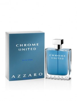 Azzaro Chrome United Men Eau De Toilette Spray 100ml
