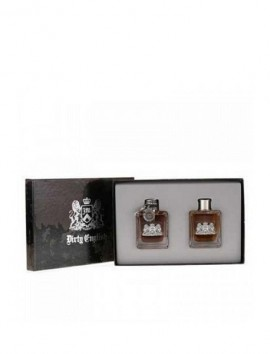 Juicy Couture Dirty English Men Gift Set Eau De Toilette Spray 100ml