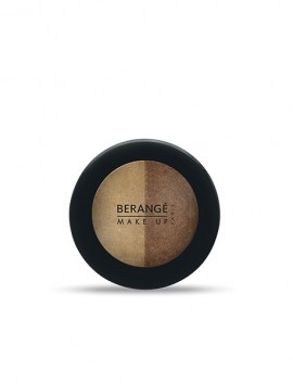Berange Duo Eyeshadows Marron Naturel (2.8gr)