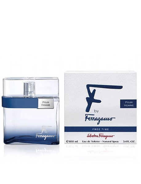 Salvatore Ferragamo F Free Time Men Eau De Toilette Spray 100ml f8572839d6