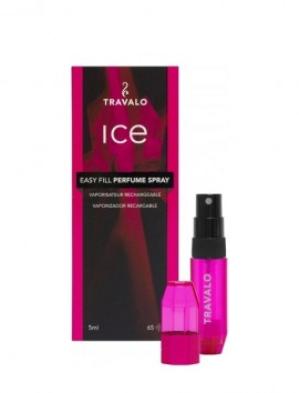 Travalo Ice Easy Fill Perfume Spray 5ml Pink