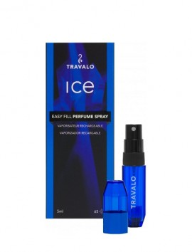 Travalo Ice Easy Fill Perfume Spray 5ml Blue