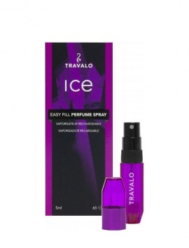 Travalo Ice Easy Fill Perfume Spray 5ml Purple