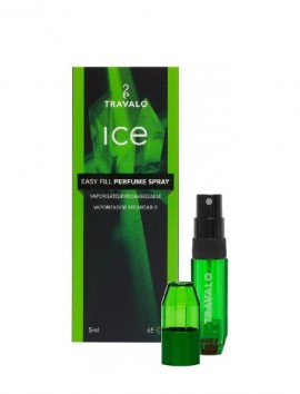 Travalo Ice Easy Fill Perfume Spray 5ml Green
