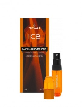 Travalo Ice Easy Fill Perfume Spray 5ml Orange