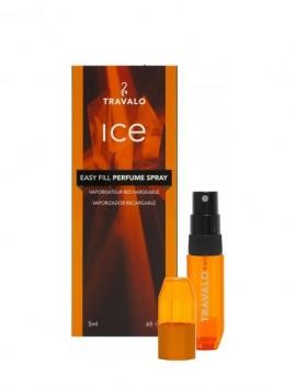 Travalo Ice Easy Fill Perfume Spray 5ml Orange