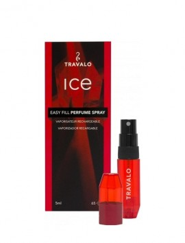 Travalo Ice Easy Fill Perfume Spray 5ml Red