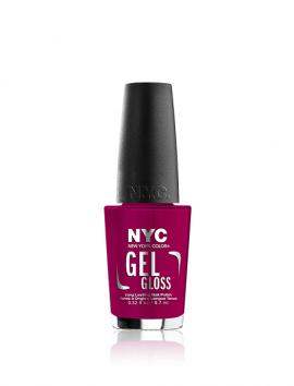 NYC Gel Gloss Nail Polish No 302 NY Haute Couture (9.7ml)