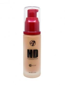 W7 HD Foundation Natural Beige (30ml)