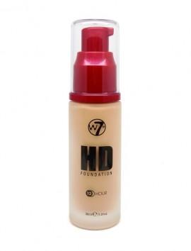 W7 HD Foundation Sand Beige (30ml)
