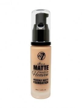 W7 Matte Made in Heaven Foundation True Beige (30ml)