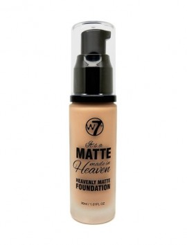 W7 Matte Made in Heaven Foundation Natural Tan (30ml)