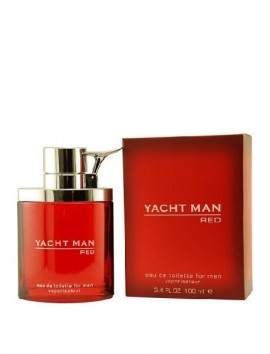 Yatchman Red Men Eau De Toilette Spray 100ml